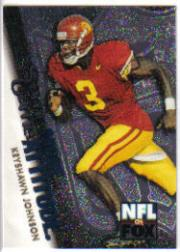 1996 SkyBox Impact More Attitude #10 Keyshawn Johnson