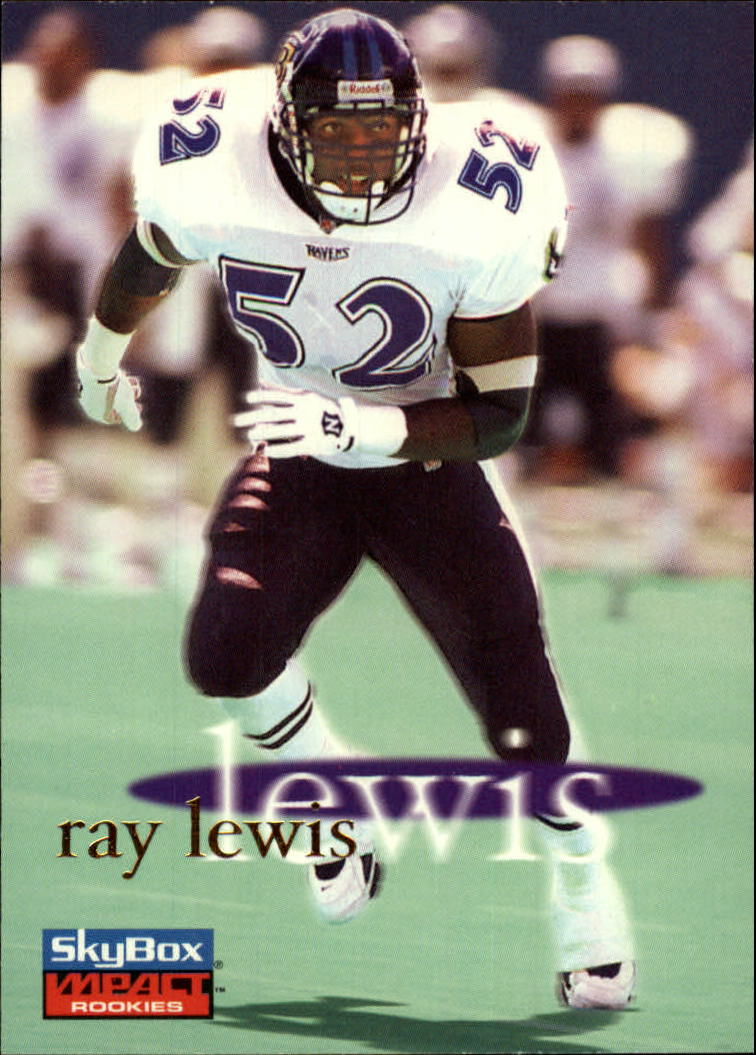 1996 SkyBox Impact Rookies #6 Ray Lewis RC