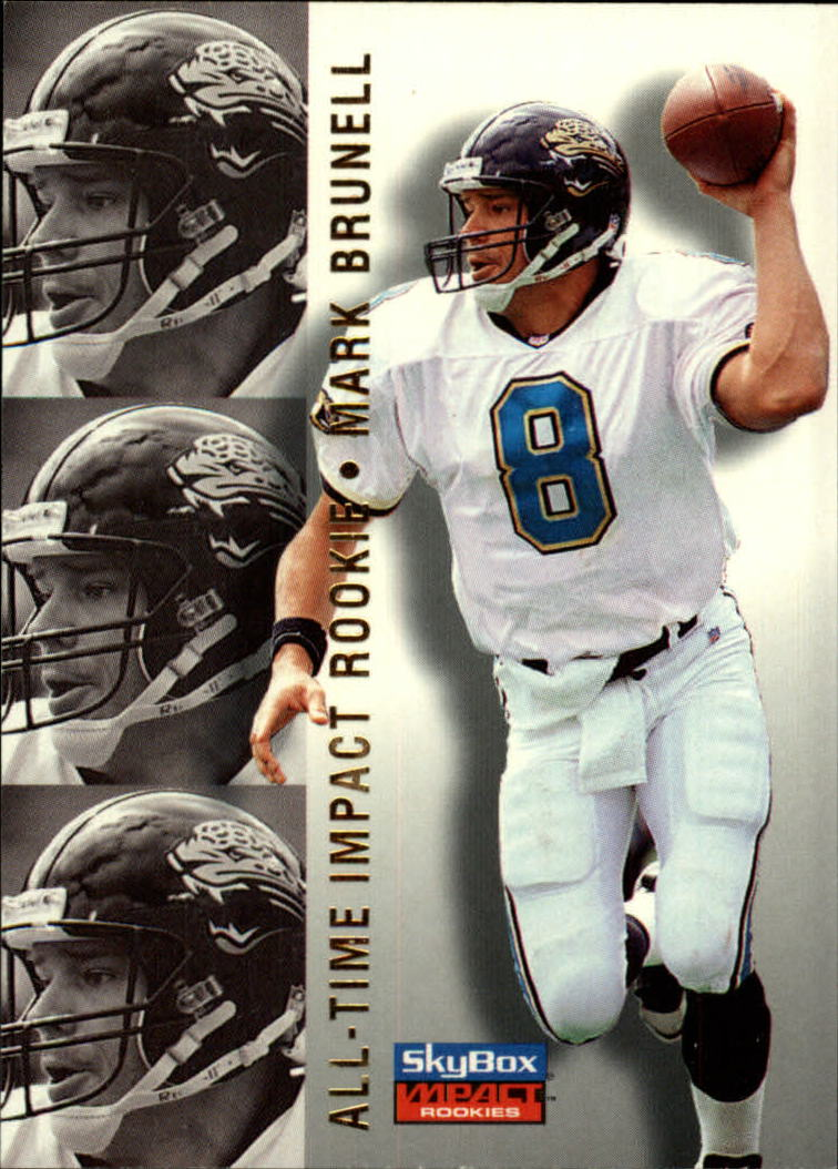 1996 SkyBox Impact Rookies #75 Mark Brunell AIR