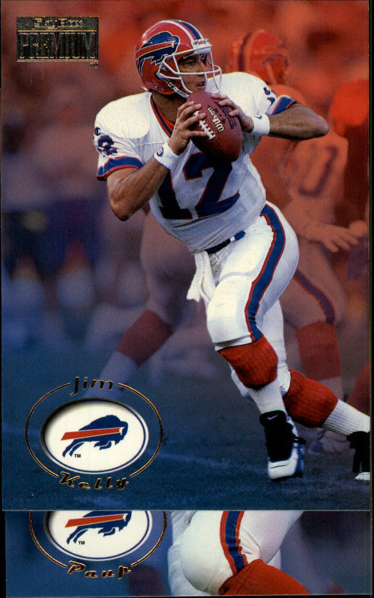 1996 SkyBox Premium #18 Jim Kelly
