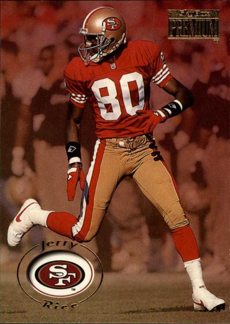 1996 SkyBox Premium #160 Jerry Rice