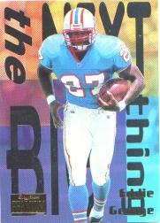 1996 SkyBox Premium Next Big Thing #5 Eddie George