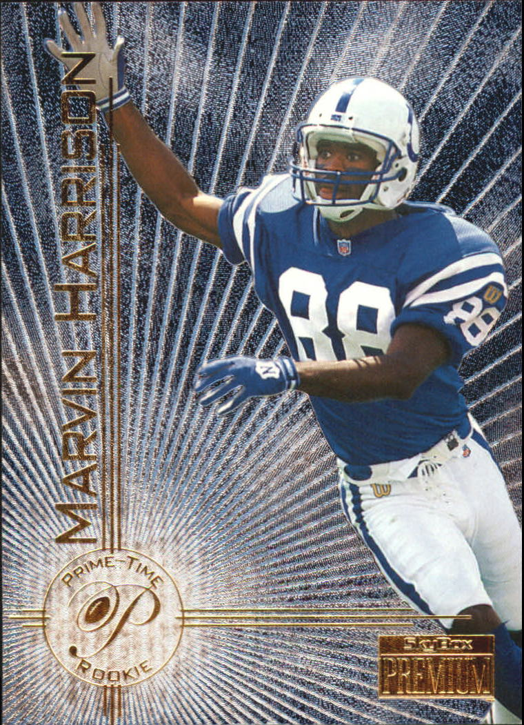 1996 SkyBox Premium Prime Time Rookies #6 Marvin Harrison
