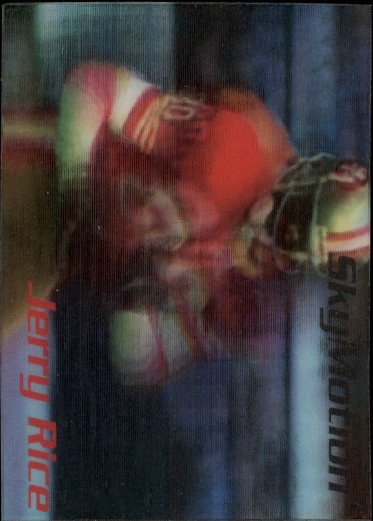 1996 SkyBox SkyMotion #40 Jerry Rice