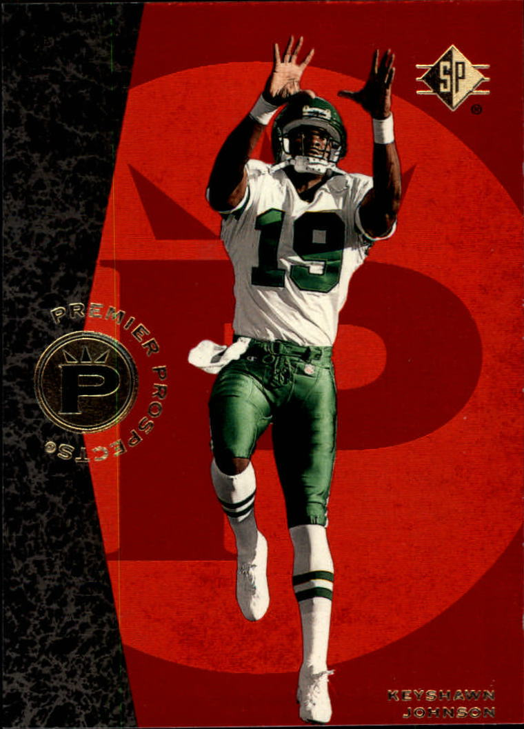 1996 SP #1 Keyshawn Johnson RC