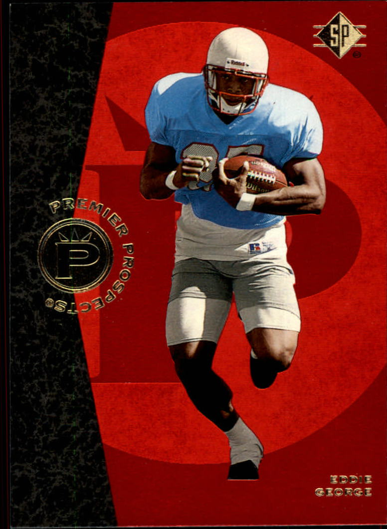 1996 SP #5 Eddie George RC