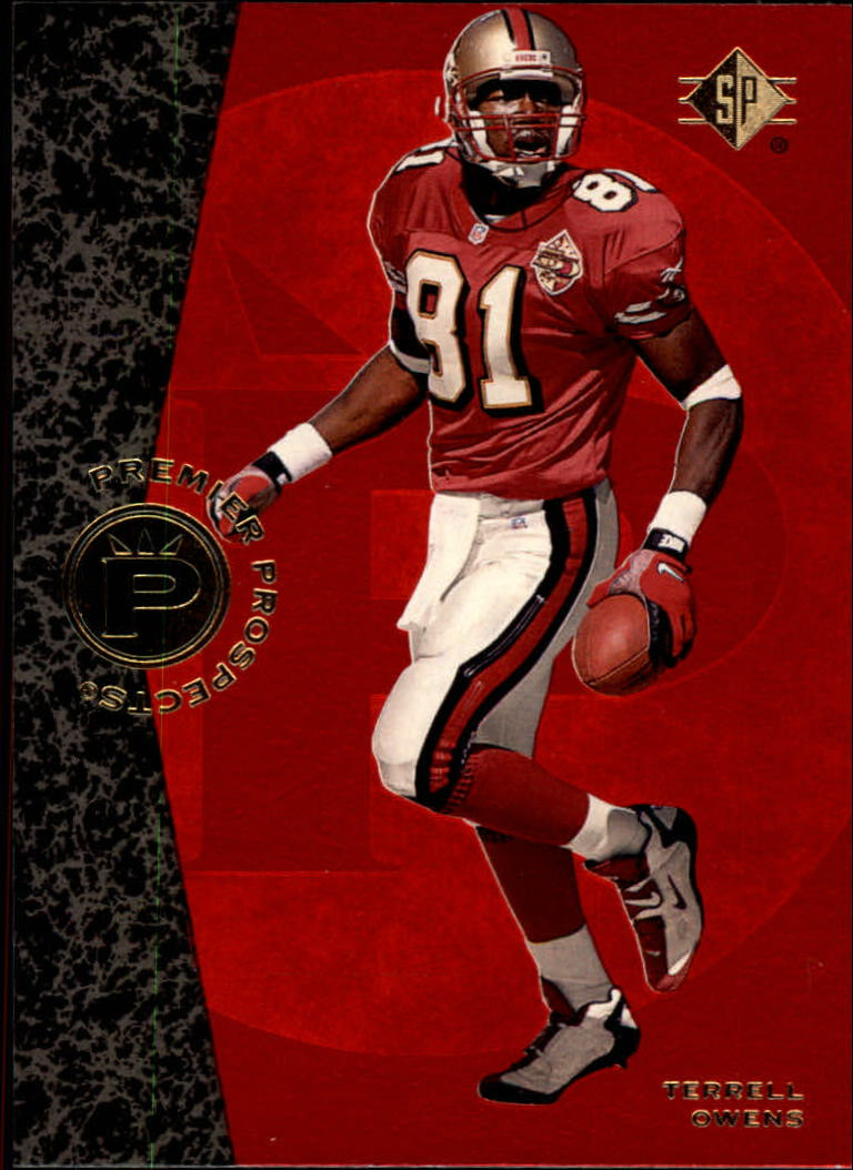 1996 SP #7 Terrell Owens RC