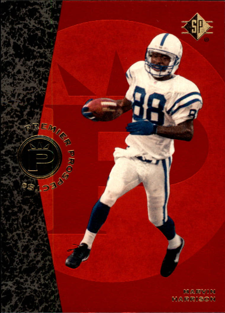 1996 SP #18 Marvin Harrison RC