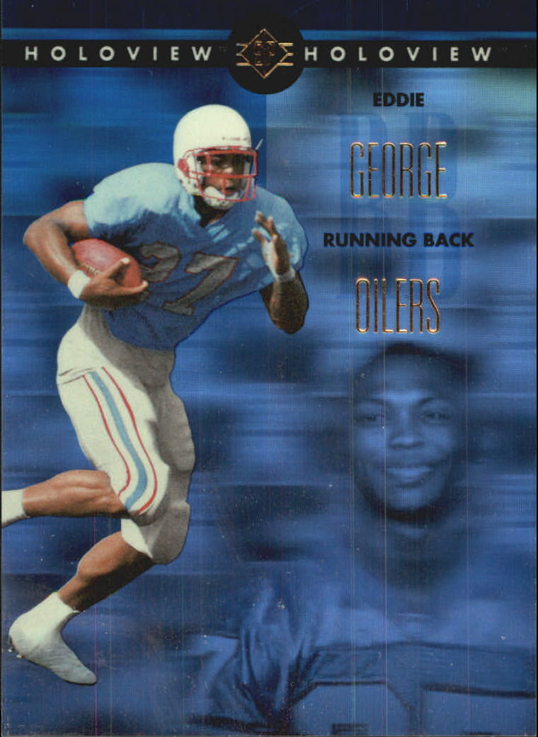 1996 SP Holoviews #35 Eddie George