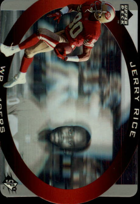 1996 SPx #42 Jerry Rice