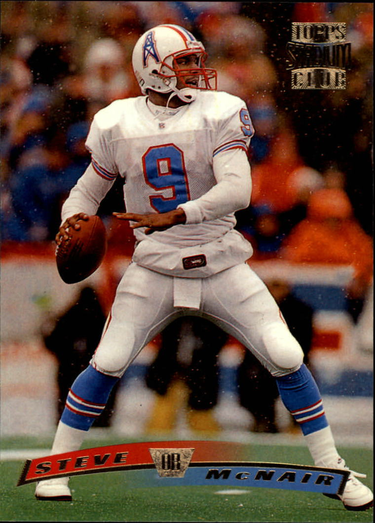 1996 Stadium Club #99 Steve McNair