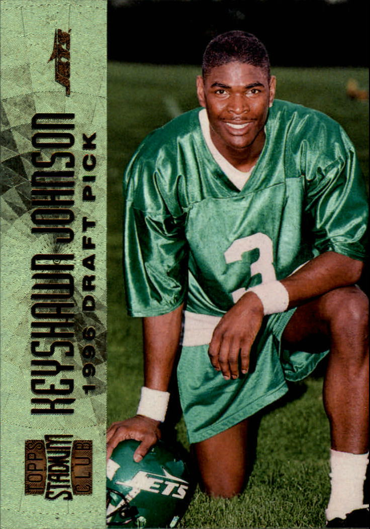 1996 Stadium Club #150 Keyshawn Johnson SP RC