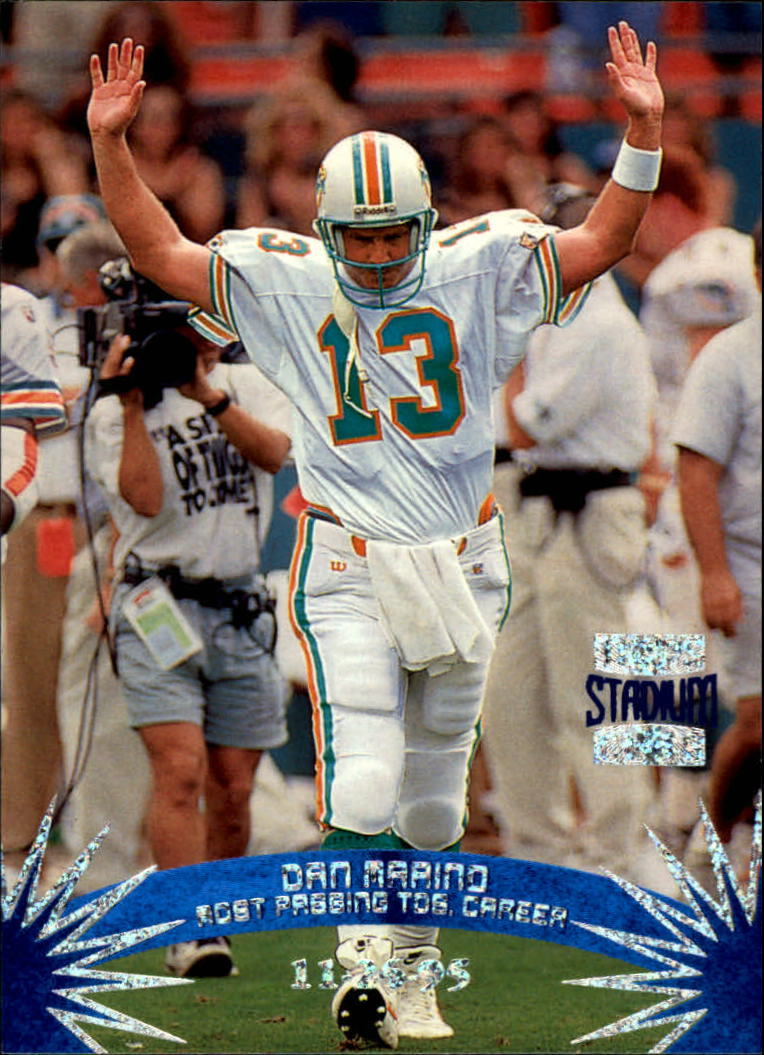1996 Stadium Club #155 Dan Marino SM SP