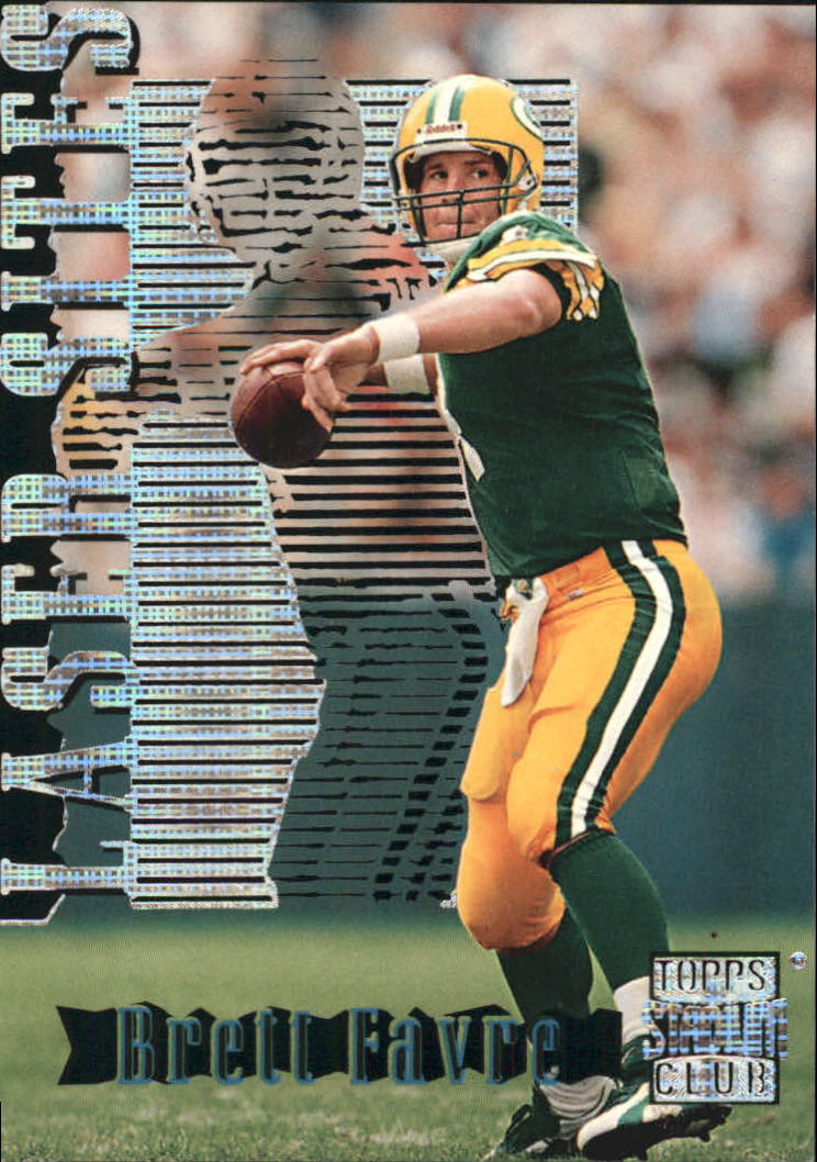 1996 Stadium Club Laser Sites #LS1 Brett Favre