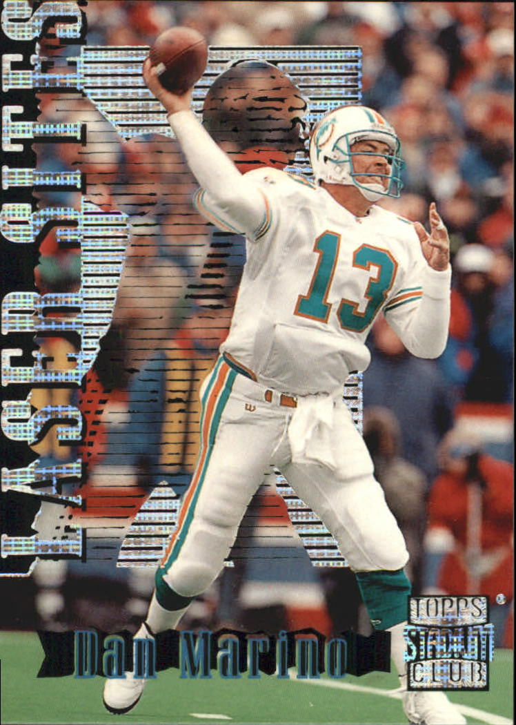 1996 Stadium Club Laser Sites #LS2 Dan Marino