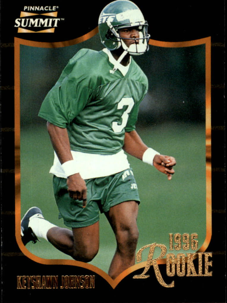 1996 Summit #157 Keyshawn Johnson RC