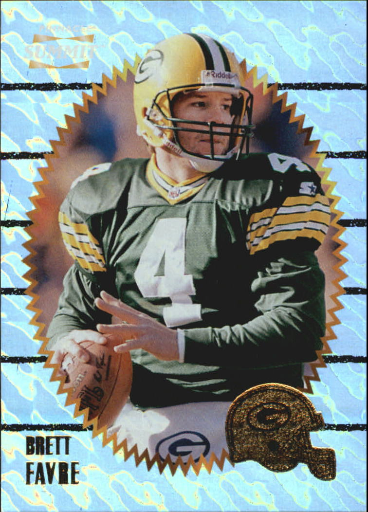 1996 Summit Ground Zero #63 Brett Favre