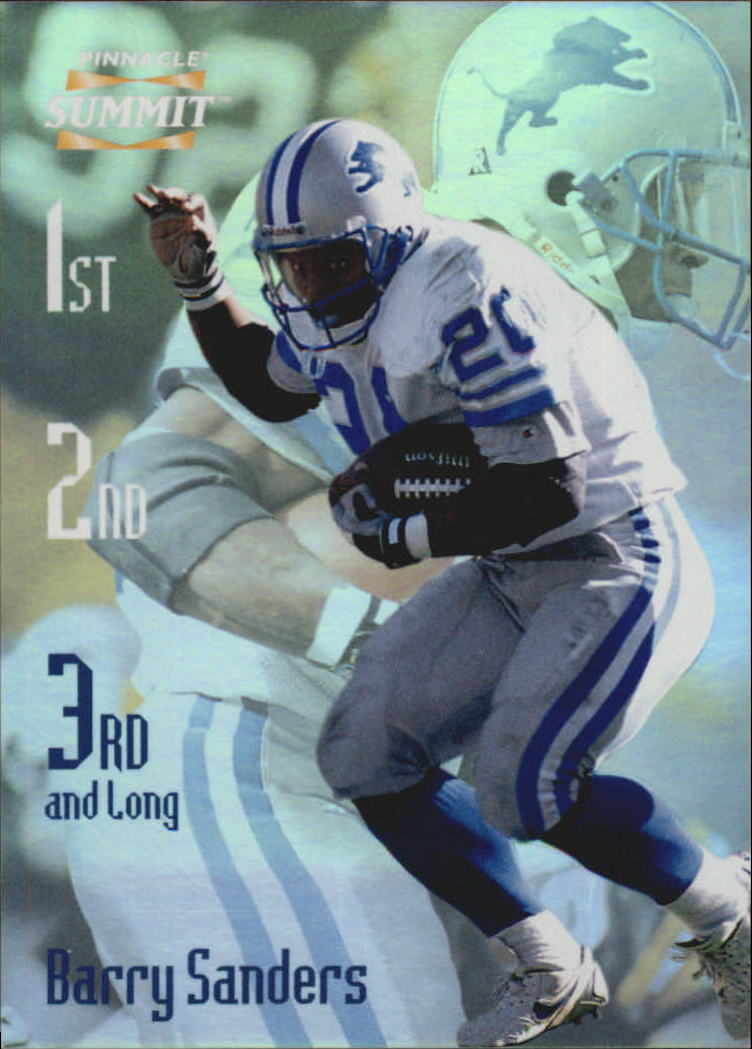 1996 Summit Third and Long #17 Barry Sanders