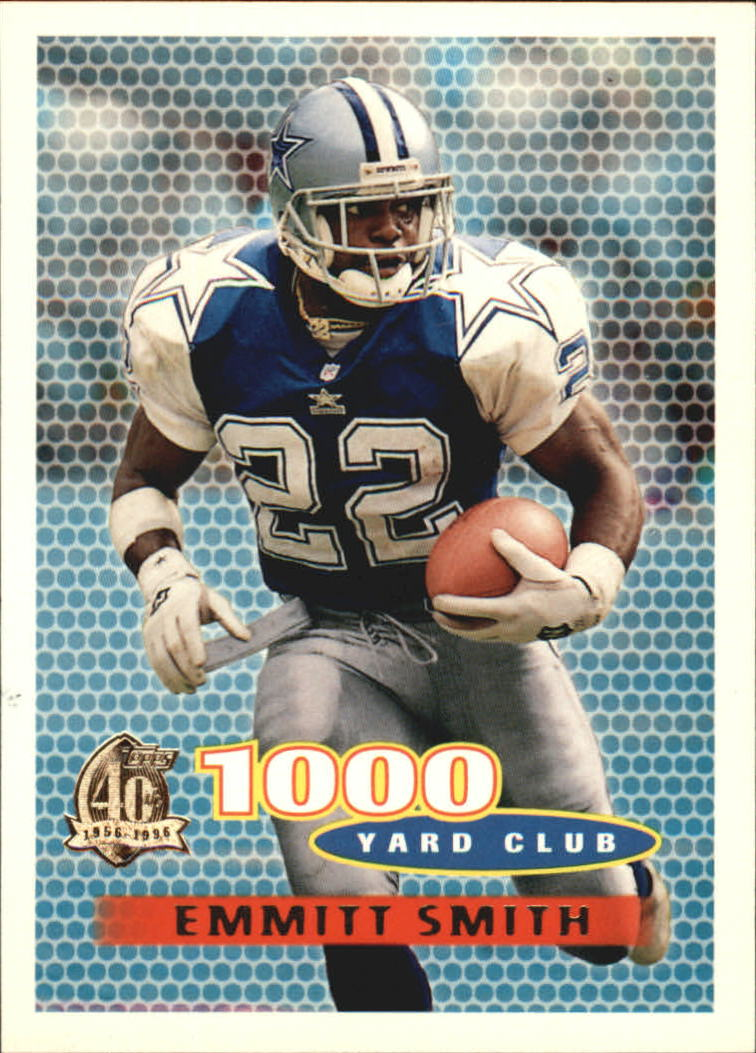 1996 Topps #121 Emmitt Smith TYC