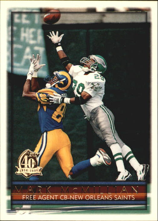 1996 Topps #366 Mark McMillian
