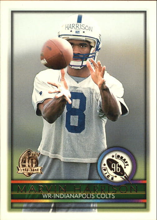1996 Topps #426 Marvin Harrison RC