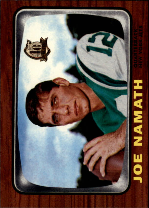 1996 Topps Namath Reprints #2 Joe Namath 1966
