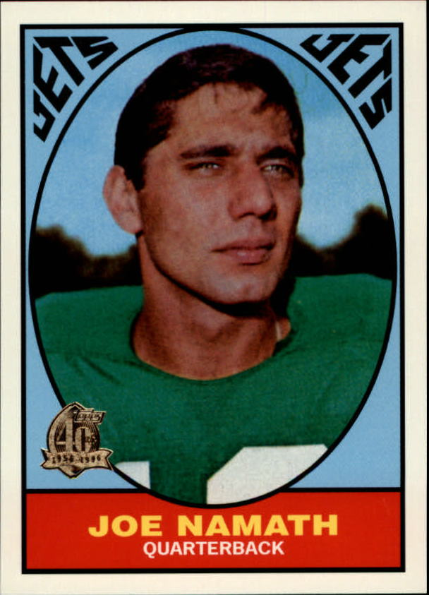 1996 Topps Namath Reprints #3 Joe Namath 1967