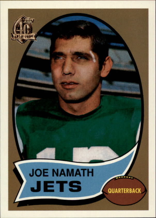 1996 Topps Namath Reprints #6 Joe Namath 1970
