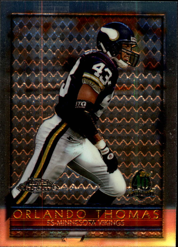1996 Topps Chrome #7 Orlando Thomas