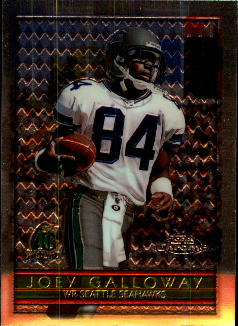 1996 Topps Chrome #17 Joey Galloway