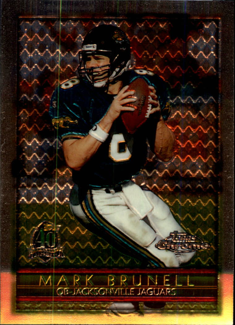 1996 Topps Chrome #25 Mark Brunell