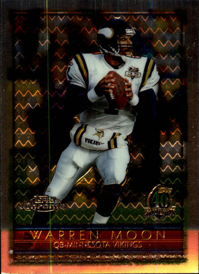 1996 Topps Chrome #31 Warren Moon