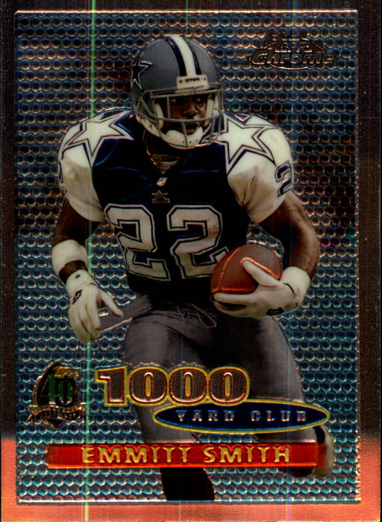 1996 Topps Chrome #50 Emmitt Smith TYC