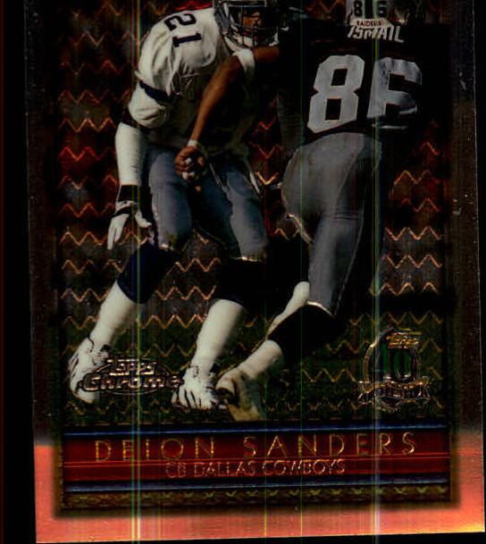 1996 Topps Chrome #79 Deion Sanders
