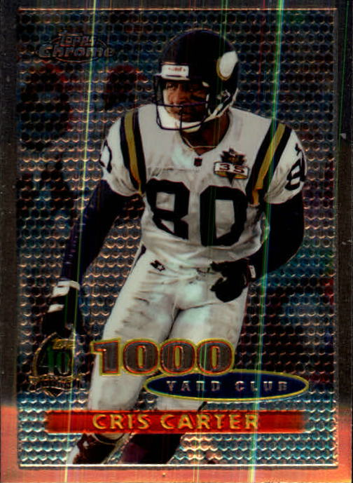1996 Topps Chrome #94 Cris Carter TYC