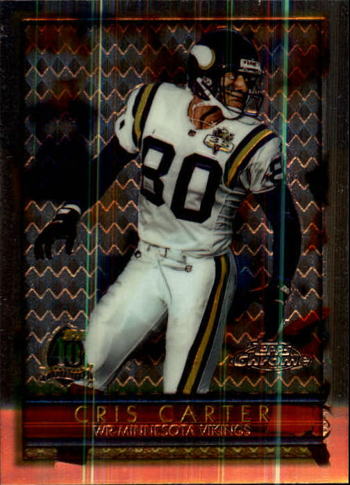 1996 Topps Chrome #99 Cris Carter
