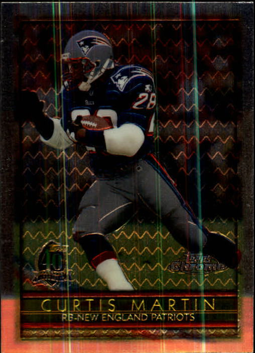 1996 Topps Chrome #100 Curtis Martin