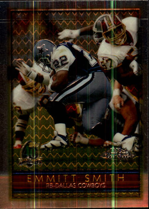 1996 Topps Chrome #108 Emmitt Smith