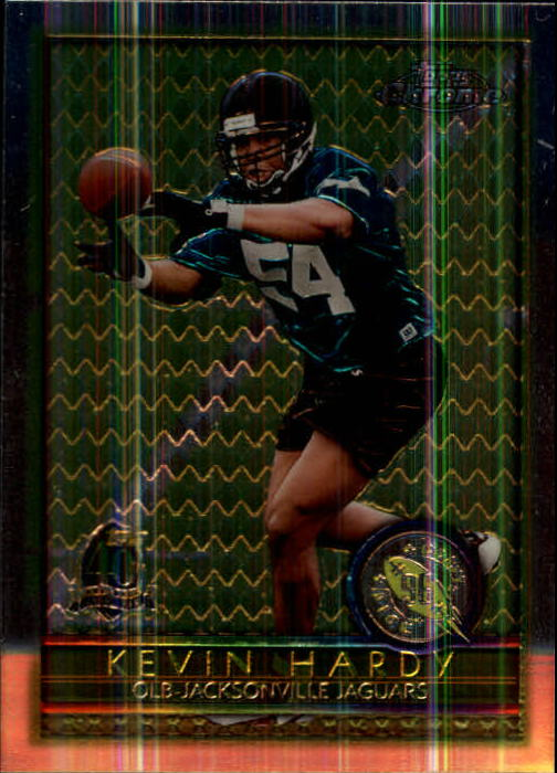1996 Topps Chrome #152 Kevin Hardy RC