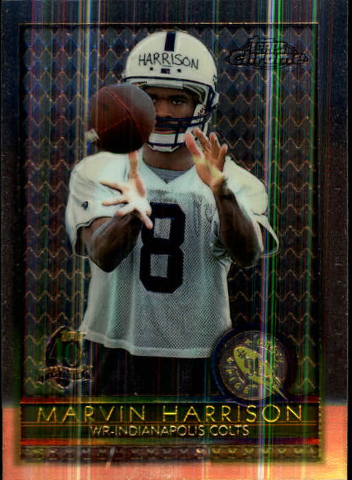 1996 Topps Chrome #156 Marvin Harrison RC