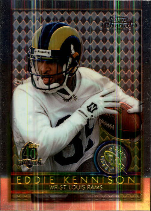 1996 Topps Chrome #164 Eddie Kennison RC