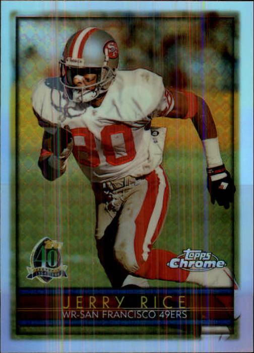 1996 Topps Chrome Refractors #98 Jerry Rice