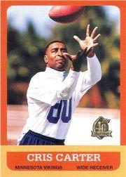 1996 Topps Chrome 40th Anniversary Retros #8 Cris Carter 1963