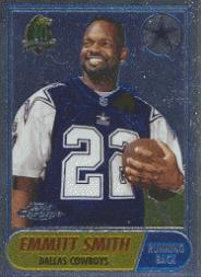1996 Topps Chrome 40th Anniversary Retros #13 Emmitt Smith 1968
