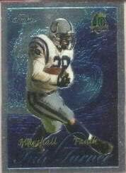 1996 Topps Chrome Tide Turners #TT3 Marshall Faulk