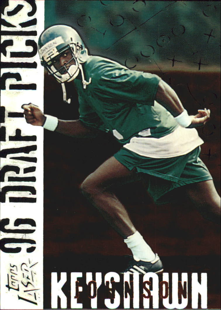 1996 Topps Laser Draft Picks #1 Keyshawn Johnson