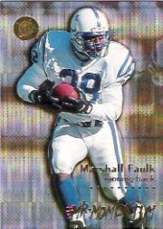 1996 Ultra Mr. Momentum #5 Marshall Faulk