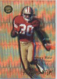 1996 Ultra Mr. Momentum #12 Jerry Rice