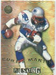 1996 Ultra Pulsating #4 Curtis Martin