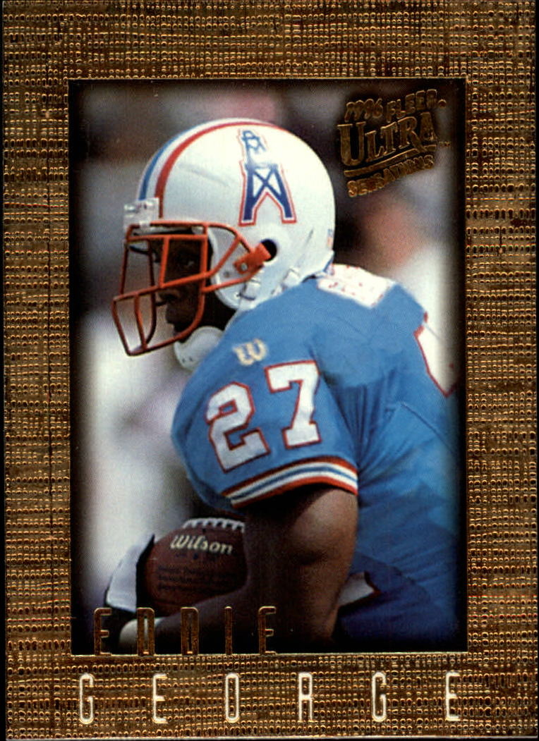1996 Ultra Sensations #41 Eddie George RC